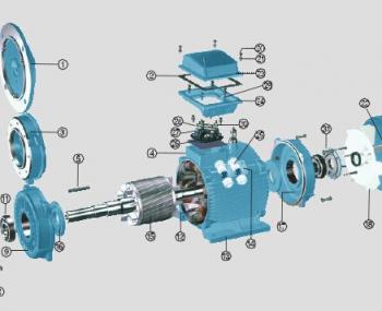 东元金岩电机的拆装步骤和方法