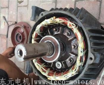 东元变频电机与风雷之力涌动普通电机维修时的区别