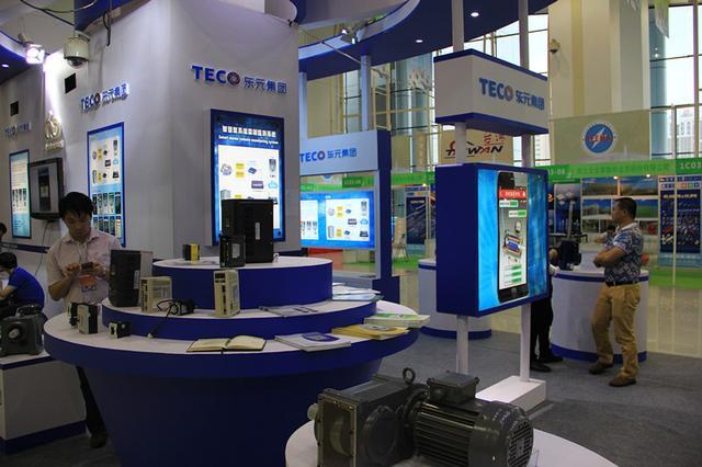 东元电机携智慧电机及减速机参加海峡两岸电博会
