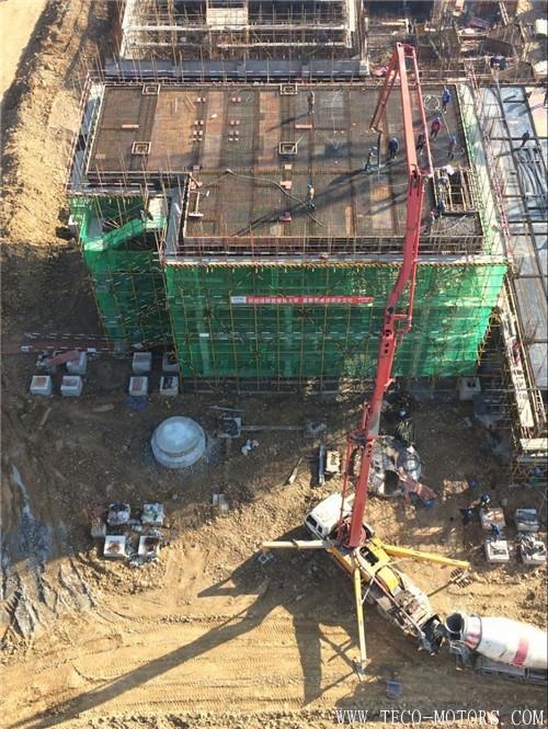 【电厂】池州垃圾电站工程灰渣库开始进行顶层砼的浇筑 行业资讯
