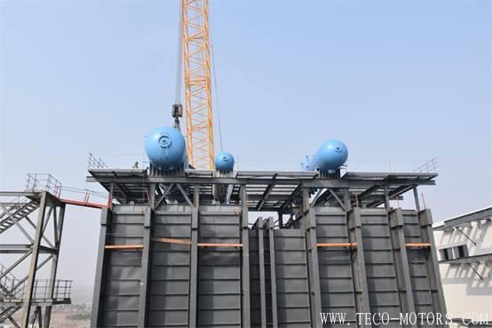 【电厂】洛阳万众项目部2号余热锅炉高、中、低压汽包顺利吊装完成 行业资讯 第2张