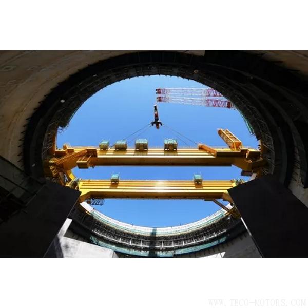 【电厂】华龙一号示范工程福清核电6号机组环吊主梁吊装就位 行业资讯 第2张
