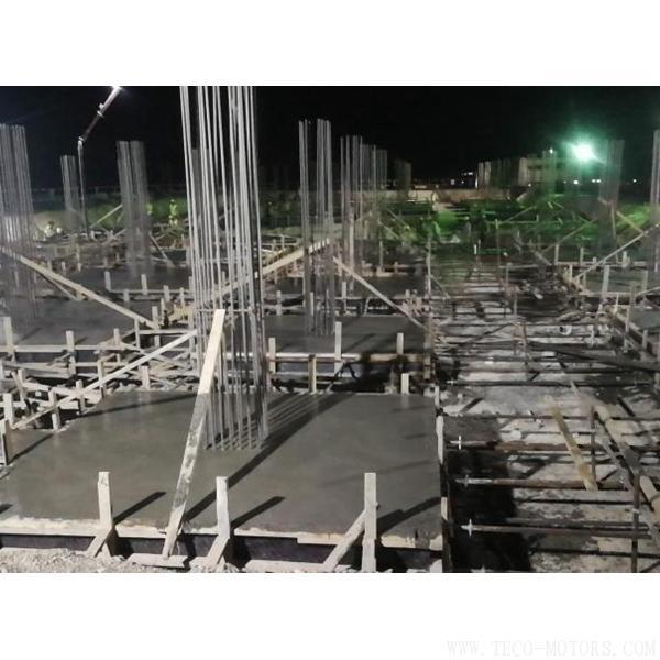 【电厂】约旦项目行政楼基础垫层混凝土浇筑顺利完成 行业资讯