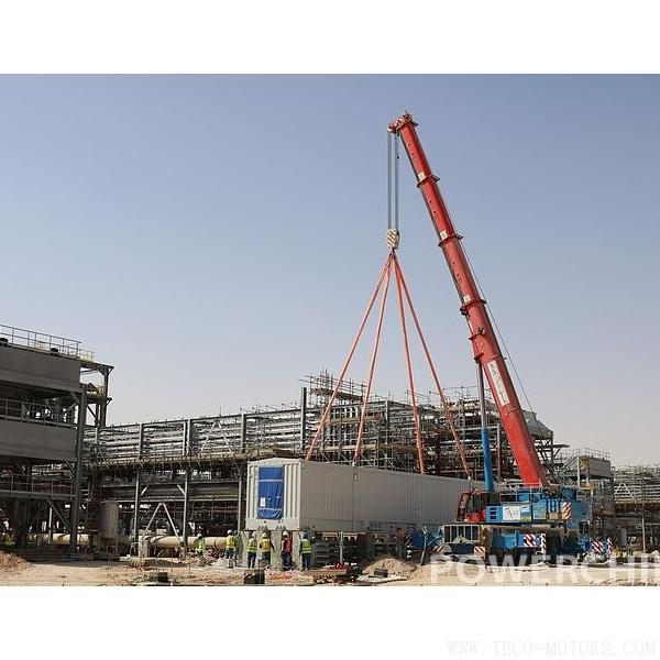 【电厂】MGS沙特二期#1站1号燃气压缩机组就地控制室(LCC)顺利就位 行业资讯