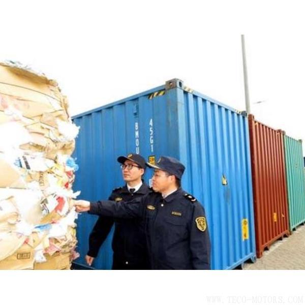 【造纸】黄岛口岸连续截获8批韩国不合格废纸 总重量4205吨 行业资讯