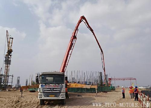 【电厂】内蒙古盛鲁电厂烟囱筒壁第一节混凝土顺利浇筑完成 行业资讯