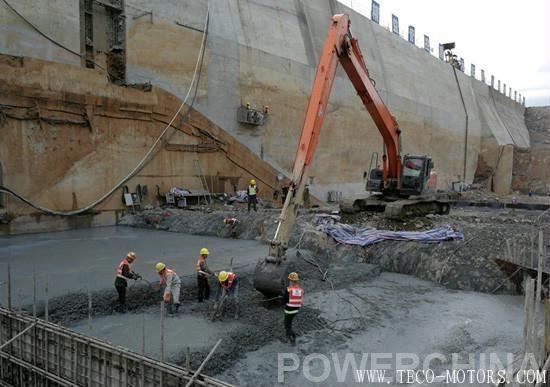 【电厂】老挝南欧江一级水电站二期工程首仓混凝土浇筑 行业资讯