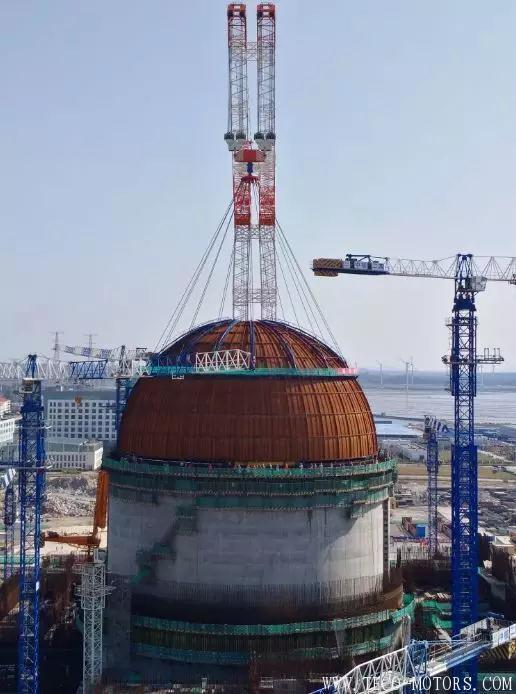 """【电厂】国内第二台""""华龙一号"""" 福清核电6号机组提前实现穹顶吊装 行业资讯"""