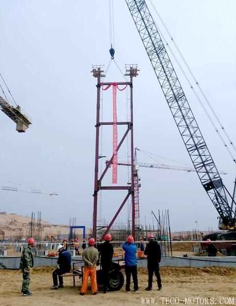 【电厂】陕西神木精益化工项目动力站锅炉钢架顺利开吊 行业资讯