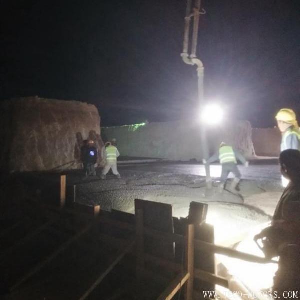 【电厂】约旦阿塔拉特2×235兆瓦油页岩电厂项目空冷基础垫层混凝土浇筑完成 行业资讯
