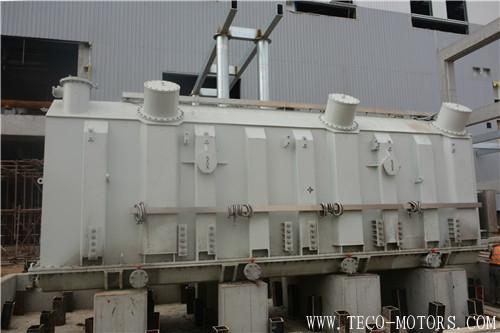 【电厂】商丘项目1号机组主变压器顺利推移就位 行业资讯