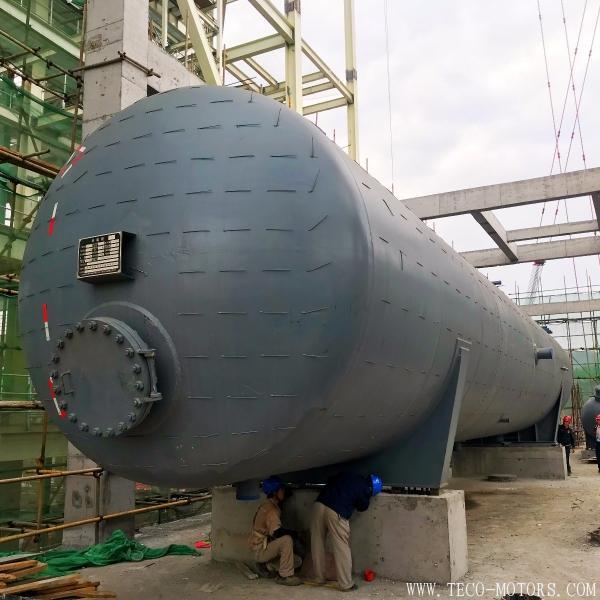 【电厂】重庆南川水江1×350兆瓦热电联产项目除氧器顺利就位 行业资讯