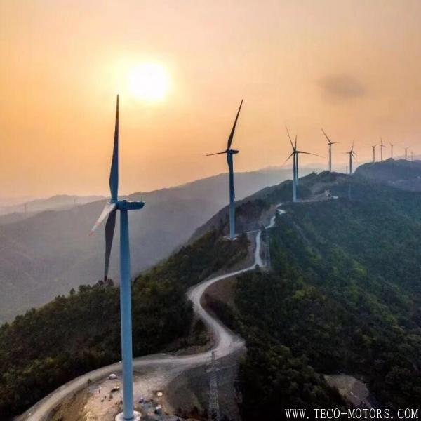 【电厂】华电广西首个风电项目第一台风机顺利并网发电! 行业资讯