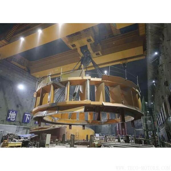 【电厂】乌东德水电站工程12台机组座环全部吊装完成 行业资讯 第5张
