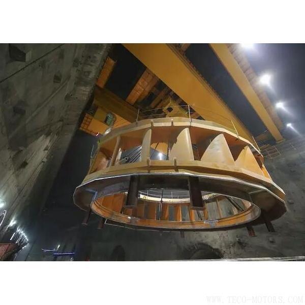 【电厂】乌东德水电站工程12台机组座环全部吊装完成 行业资讯 第4张
