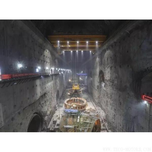 【电厂】乌东德水电站工程12台机组座环全部吊装完成 行业资讯 第2张