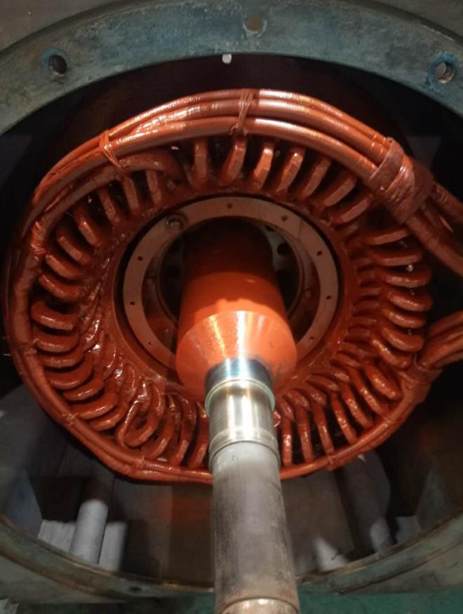 东元08年出厂大功率电机维修保养 业绩案例 第7张