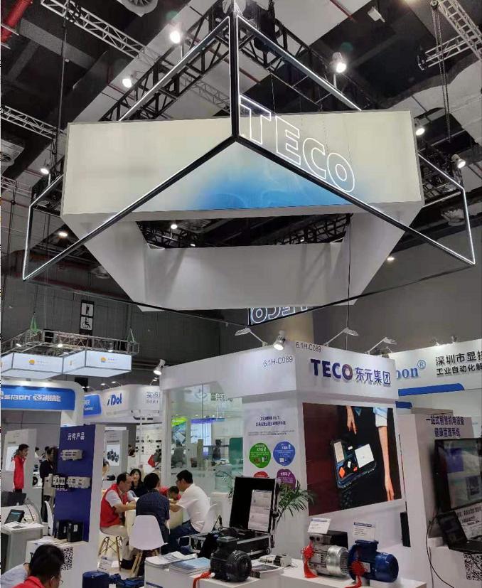 2019年东元电机参展工博会,展现强大电机制造实力!