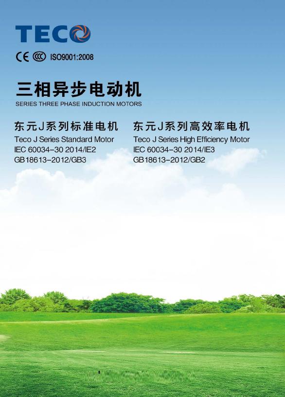 东元电机-AEEVJ系列电机-电子档样本-2016年版.pdf